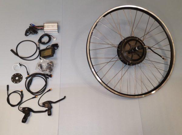 MXUS MX01C kaseta tył 1000W zestaw do konwersji roweru na elektryczny mgvolt