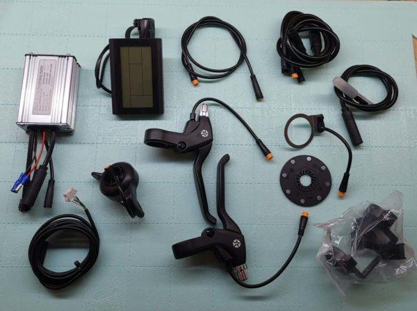 MXUS MX01C zestaw do konwersji roweru na elektryczny mgvolt