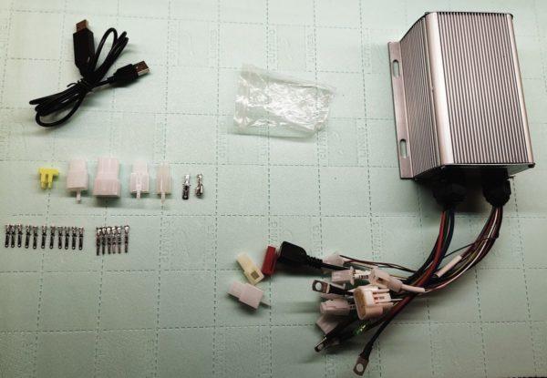 zestaw sterownik sabvoton mg volt mqcon 72045 7245 mini programowalny sterownik FOC
