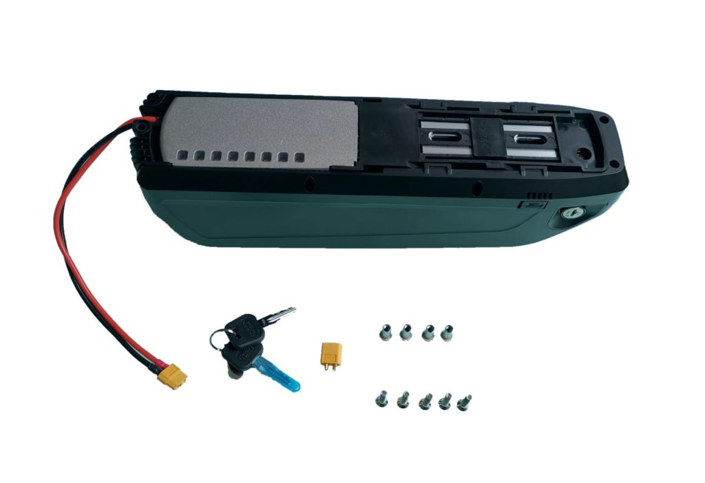 akumulator do roweru elektrycznego bidon hailong 65 ogniw 48V 17,5Ah 840Wh